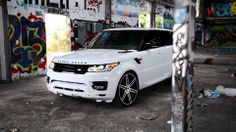 """2014 Range Rover l Vellano VM14 24"""" Monoblock  this Amazing piece of British Engineering Perfection was customize by our friends over at MC customs. Photography By William Stern."""