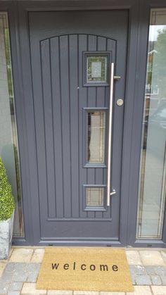 "Palladio Composite ""Turner"" Door in Anthracite Grey"