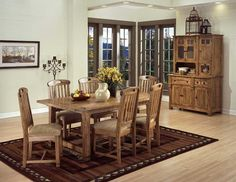 Sedona Rustic Oak Hutch and Buffet by Sunny Designs - Wolf Furniture - China Cabinet Pennsylvania, Maryland  I want...