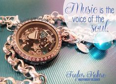 For the music lover! Tell your story with your own Origami Owl Locket! http://toriandnacona.origamiowl.com