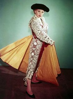 "Matador wardrobe shot from ""Lucy Goes To Mexico."" 