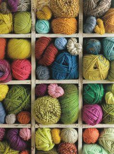 De quoi tricoter un  grand patchwork