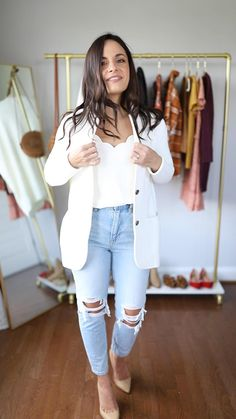Business Casual Outfits, Casual Winter Outfits, Winter Fashion Outfits, Look Fashion, Stylish Outfits, Women Casual Outfits, Feminine Fall Outfits, Blazer Outfits Fall, Fall Outfits For Work