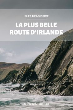 La Slea head drive est une route avec plein de spots magnifiques sur la péninsule de Dingle, dans le comté de Kerry en Irlande.  #irlande #irelande #roadtrip #voyage #travel #blogger #dingle Train Travel, Solo Travel, Ireland Places To Visit, Ireland With Kids, Train Vacations, Buses And Trains, Train Tour, Western Coast, Road Trip Destinations