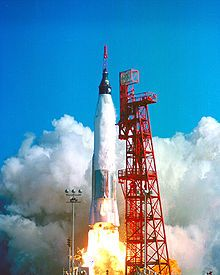 Mercury-Atlas 6 - Wikipedia, the free encyclopedia First manned orbital spaceflight US Friendship 7