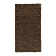 """ÅDUM Rug, high pile - 2 ' 7"""" by 4' 11"""". $29.99. This shape could be good for front and/or back entryways."""