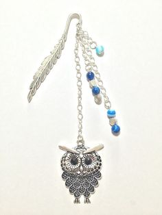 Decorative Silver Metal Bookmark Cute Charm Unique Gift Owl   eBay