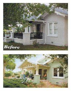 8 small homes get huge facelifts renos flips pinterest curb