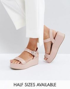 7c100f48794772 Shop ASOS TOUCAN Wedge Sandals at ASOS. Discover fashion online. Prom Shoes