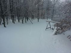 Blanket of snow.