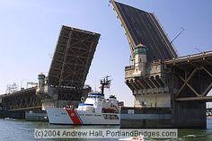 Burnside Bridge, Coast Guard Ship, Rose Festival.- Matin Real Estate : http://matinrealestate.com