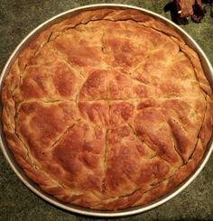Νόστιμη Κρεατόπιτα με πράσο, όπως την φτιάχνουν στην Μακεδονία Cyprus Food, Burritos, Pie, Stuffed Peppers, Baking, Desserts, Recipes, Kitchen, Breakfast Burritos