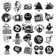 TV Kills Everything by Jared Nickerson, via Behance