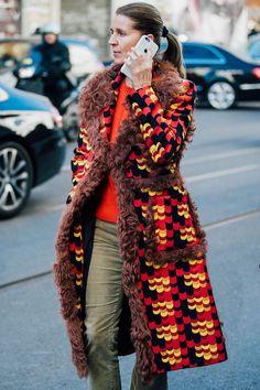 Fall 2017 Milan Fashion Week Men's Street Style - January 2017