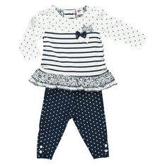 Baby Mädchen 2er Set Kleid + Legging