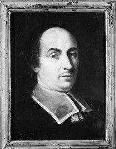 Pittore ambito romano - Ritratto dell'abate Franco Nazzari - 1675-1699 - Accademia Carrara di Bergamo Pinacoteca