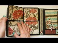 Interactive Folio Style Mini Album - Serenity - YouTube