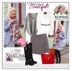 """Romwe 2"" by aida-1999 ❤ liked on Polyvore featuring Libelula, Pier 1 Imports, Lancôme, Carolina Herrera, Unisa, women's clothing, women's fashion, women, female and woman"
