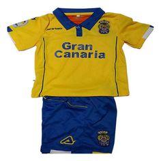 Primera Equipacion Camiseta Las Palmas Ninos 2016-2017