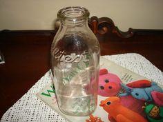 Vintage Sealtest Quart Milk Bottle