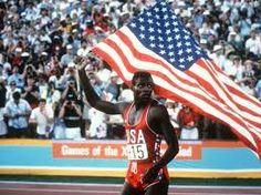 Carl Lewis ...a great American runner