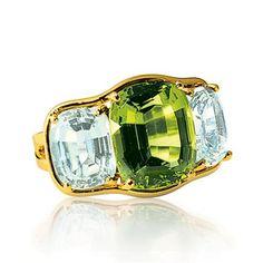 Verdura | Products | RINGS | Three Stone Ring
