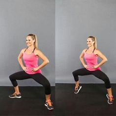 Do you want beautiful legs? Squat and calves workout can help you to reach your goal.