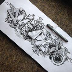 Graffiti Alphabet Fonts, Graffiti Lettering, Calligraphy Alphabet, Graffiti Piece, Love Graffiti, Graffiti Art, Hand Drawn Lettering, Lettering Design, Hair Shaver