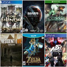 Este 2017 trae consigo varioslanzamientos que a muchos ya nos traen ansioso. OJO: En esta lista se incluyen los videojuegos que han sido ya confirmados para este año 😛 Resident Evil VII: Biohazard (Xbox One, PS4, PSVR, PC) La más reciente entrega de la popular e icónica saga de juegos de horror y supervivencia de Capcom, Resident Evil VII: Biohazard, es una reinvención de la fórmula de los juegos anteriores.La experiencia claustrofóbica en primera persona parece ser lo más aterrador que…