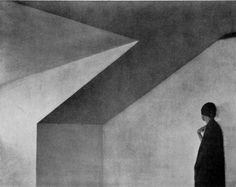 Attic, Edward Weston, platinum print, 1901