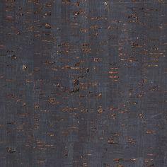 CRK-217 Deep Sea Metal cork wallpaper. KNEEDLER|FAUCHÈRE WALLCOVERINGS.