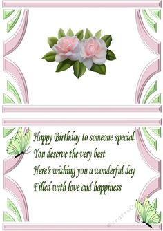 pink blush roses in art deco frame with butterflies A5 insert, with verse also matching card.. Makes a pretty card, just add your own sentiments, can be seen in other designs