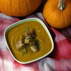 Sweet Pumpkin Spiced Soup