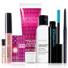 Free 8-Piece Beauty Bundle with your order of $50 or more! Use code: TREAT EXPIRES MIDNIGHT ET, 12/23/16. WHILE SUPPLIES LAST. MAIL DELIVERY ONLY. Avon reserves the right to substitute any free item offered with an item of equal or greater value. Limit one per order. This bundle includes: So Very Sophia Vial Ultra Glazewear Lip Gloss - Perfectly Nude Joyful Treats Lip Balm - Moisture Therapy Intensive Healing Joyful Treats Lip Balm - Pink Meringue Holiday Hand Cream - M...
