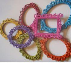 Bright Whimsy Frames!