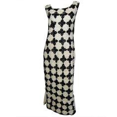 1stdibs   1960's Sequin Wool Knit Dress