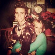 Young love —Justin Timberlake and Britney Spears