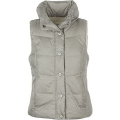 Dylan Bowery Vest ($109) ❤ liked on Polyvore featuring outerwear, vests, sherpa vest, puffer vest, puff vest, faux shearling vest and vest waistcoat