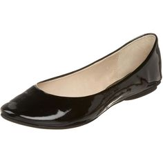 Kenneth Cole REACTION Women's Slip On By Ballet Flat ($36) ❤ liked on Polyvore featuring shoes, flats, slip-on shoes, patent leather flats, ballet pumps, flat slip on shoes and ballet flats