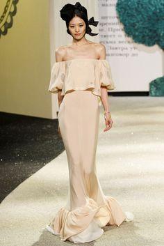 Ulyana Sergeenko - Pasarela Primavera/Verano 2013 Haute Couture