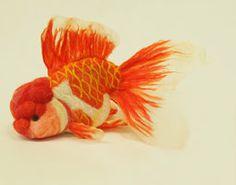 Felt goldfish25 by ~demetyoubi on deviantART