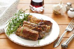 Costine di maiale alla griglia