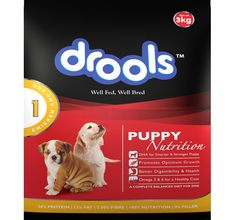 Feed your dog Drools Dog Food Puppy Chicken  for Rs. 80