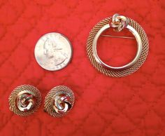 Items similar to Sarah Coventry Clip-On Earrings and Unmarked Brooch / Classic and Chic on Etsy Vintage Accessories, Vintage Jewelry, Home Shopping Network, Sarah Coventry Jewelry, November 2015, Selling Jewelry, Antique Stores, Jewelry Companies, Jewelry Party