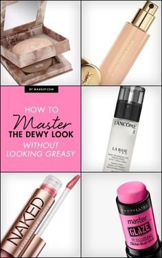 We all want that easy, natural makeup look, and what if we told you that it's easy to achieve? This tutorial and beauty products will help you easily master the dewy look!