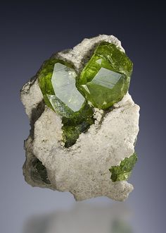 Demantoid Garnets / Mineral Friends <3