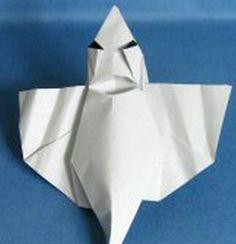 Ghost origami tutorial