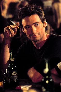 Hugh Jackman in Someone Like You. - take the cigarette out of this shot & it'd be PERFECT