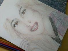 #Drawing Tini Stoessel