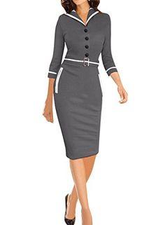 Viwenni Women's Elegant Colorblock Tunic Business Casual ... https://www.amazon.com/dp/B00W76NQJW/ref=cm_sw_r_pi_dp_x_Avyazb2VC991D